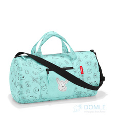 Сумка детская складная dufflebag cats and dogs mint